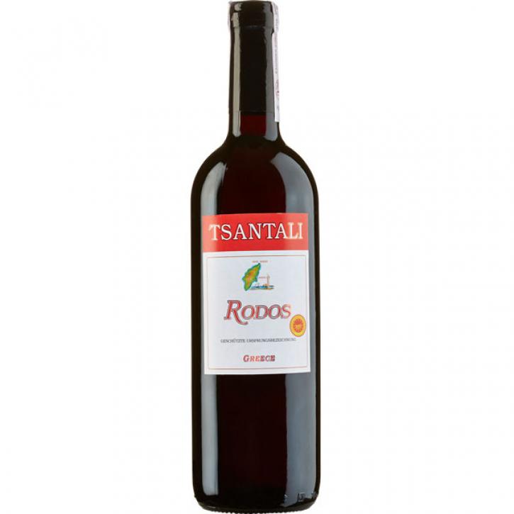 Rodos Rot lieblich (750ml) Tsantali