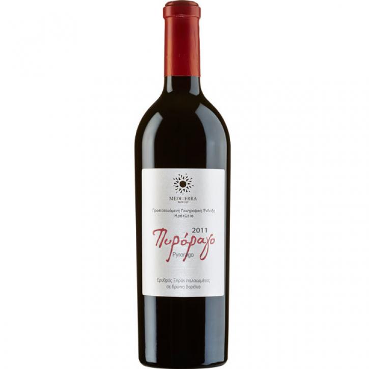 Pyrorago Rot trocken (750ml) Mediterra Winery