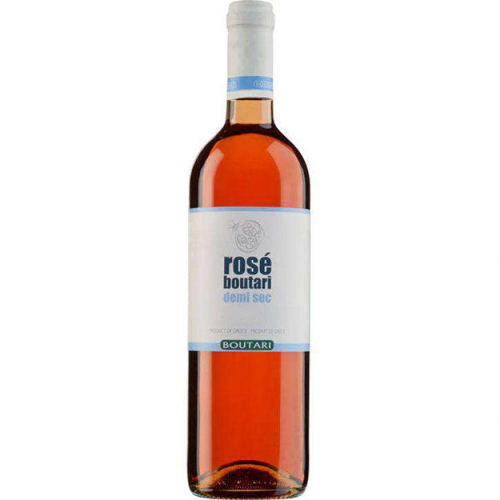 Rose Demi-Sec halbtrocken (750ml) Boutari