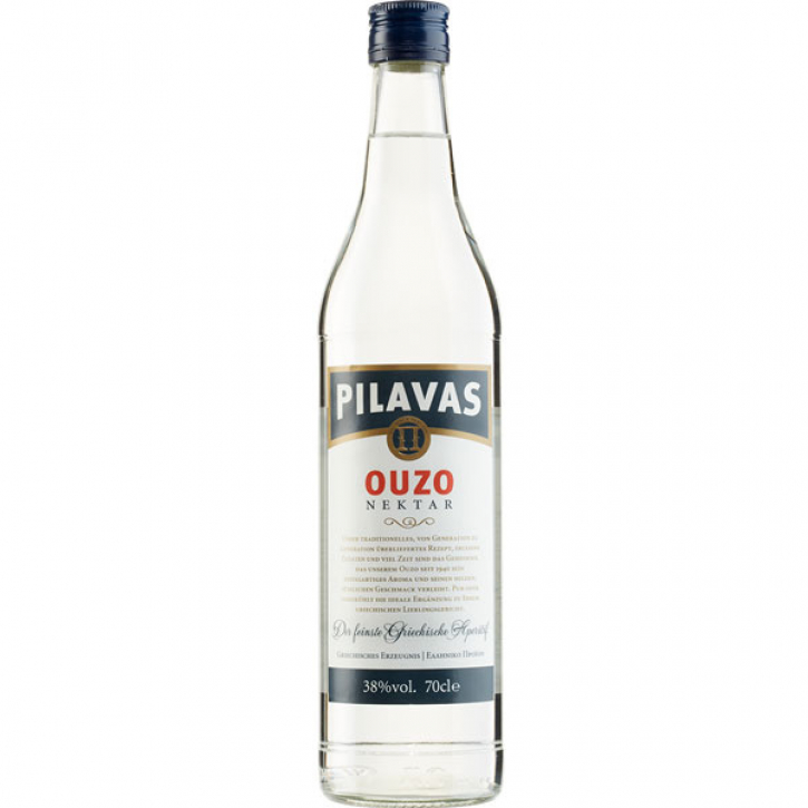Ouzo Nektar Normal (700ml/38%) Pilavas