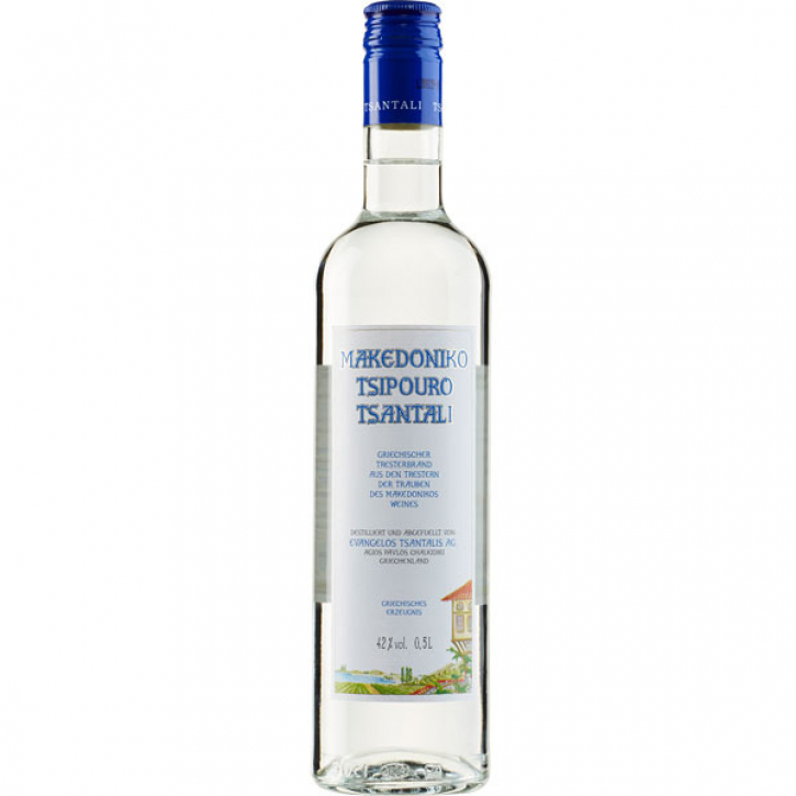Tsipouro Makedoniko (500ml) Tsantali
