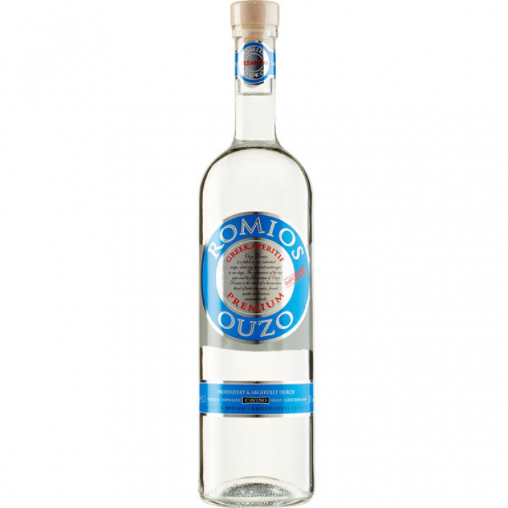 Ouzo Romios (700ml) Cavino