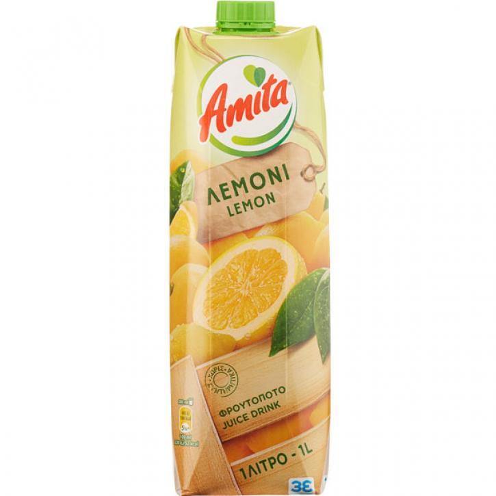 Zitronensaftgetränk 12% (1000ml) Amita