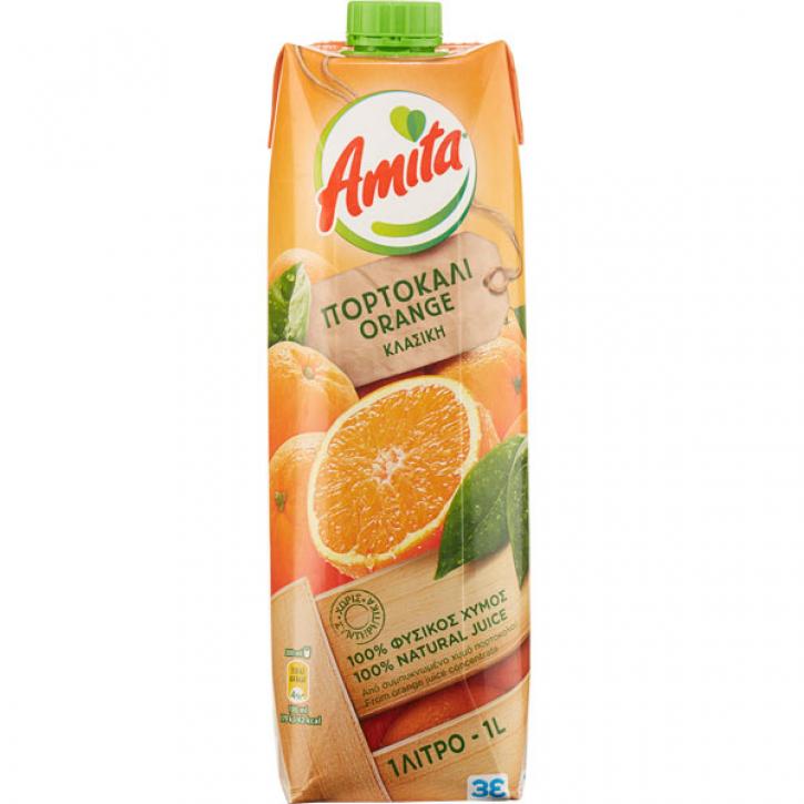 Orangenfruchtsaft 100% (1000ml) Amita