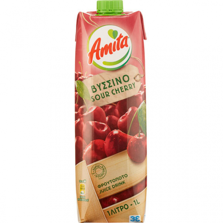 Sauerkirschsaftgetränk 20% (1000ml) Amita