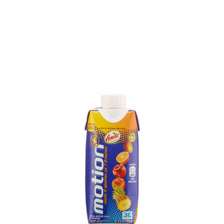 Motion Mehrfruchtsaft 100% (330ml) Amita