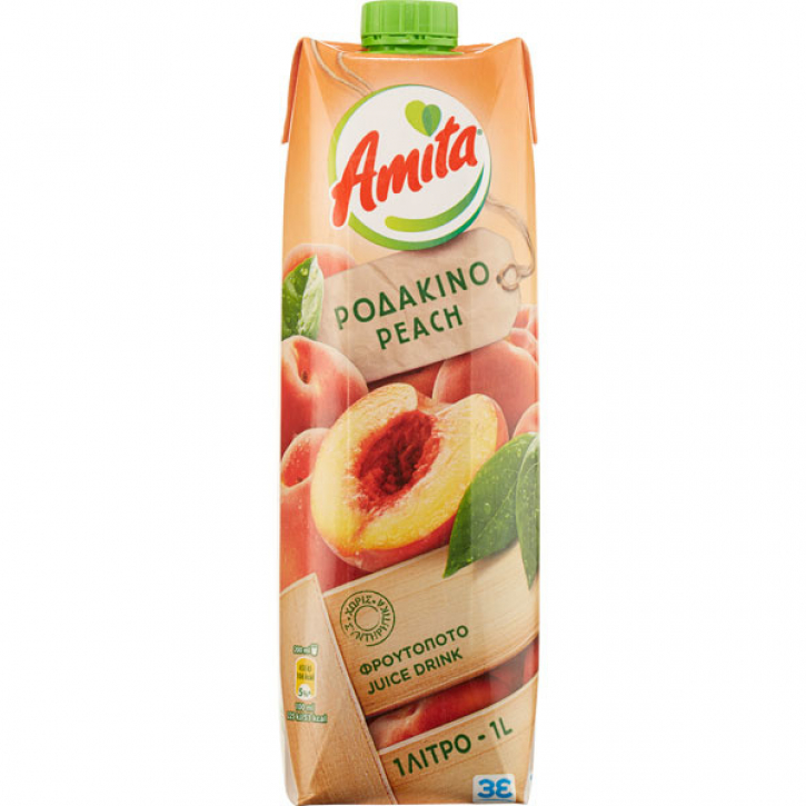Pfirsichsaftgetränk 35% (1000ml) Amita