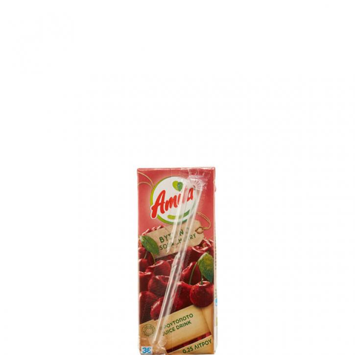 Sauerkirschsaftgetränk 20% (250ml) Amita