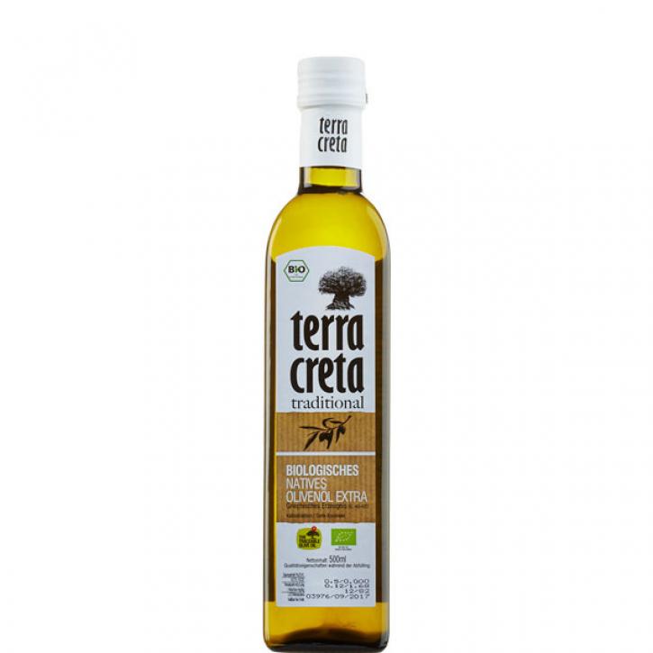 Olivenöl Extra Nativ Kolymvari BIO (500ml) Terra Creta