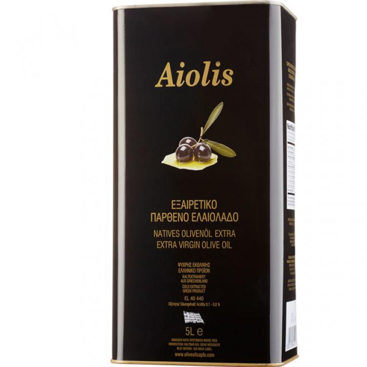 Olivenöl Extra Nativ Aiolis (5L) Papadellis