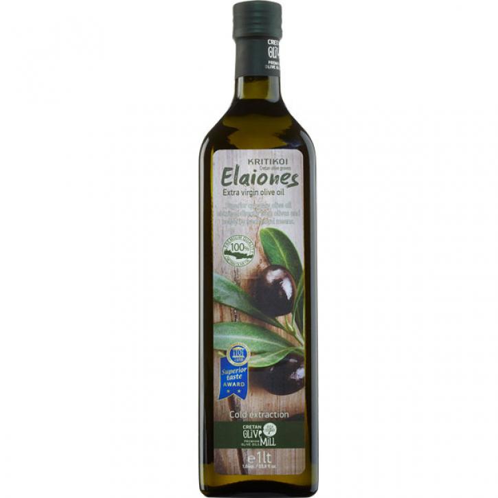 Olivenöl Extra Nativ Kritiki Eleones (1L) Cretan Olive Mill