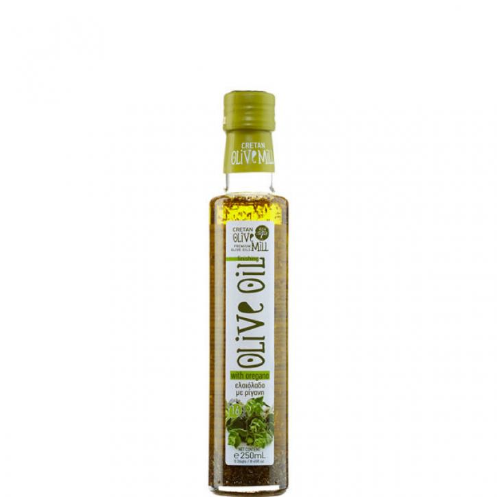 Olivenöl Extra Nativ mit Oregano (250ml) Cretan Olive Mill