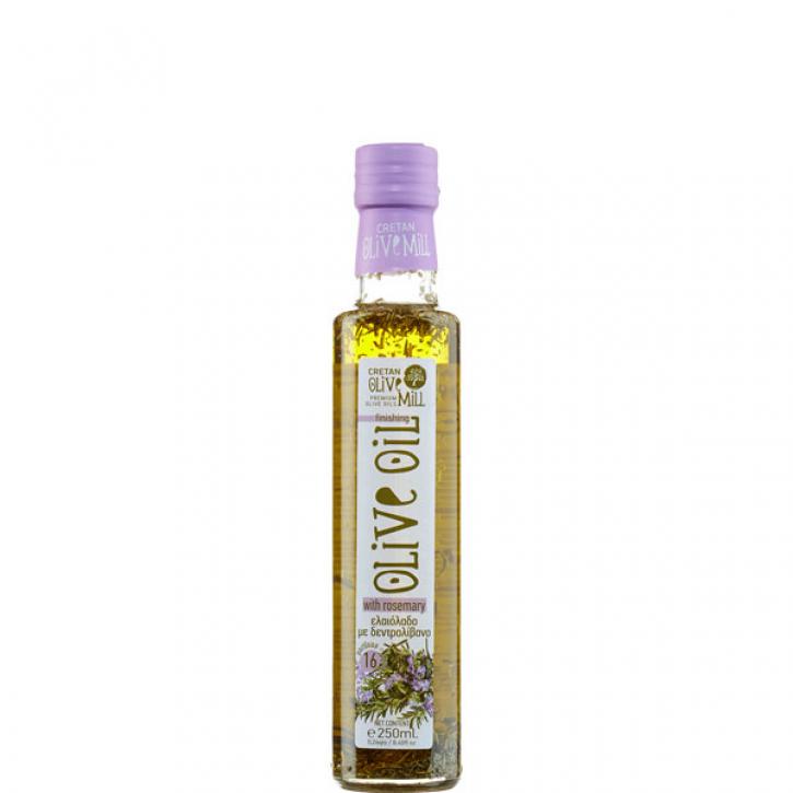 Olivenöl Extra Nativ mit Rosmarin (250ml) Cretan Olive Mill