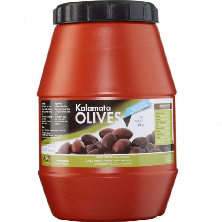 Oliven Kalamata Jumbo (2Kg) Tripsas
