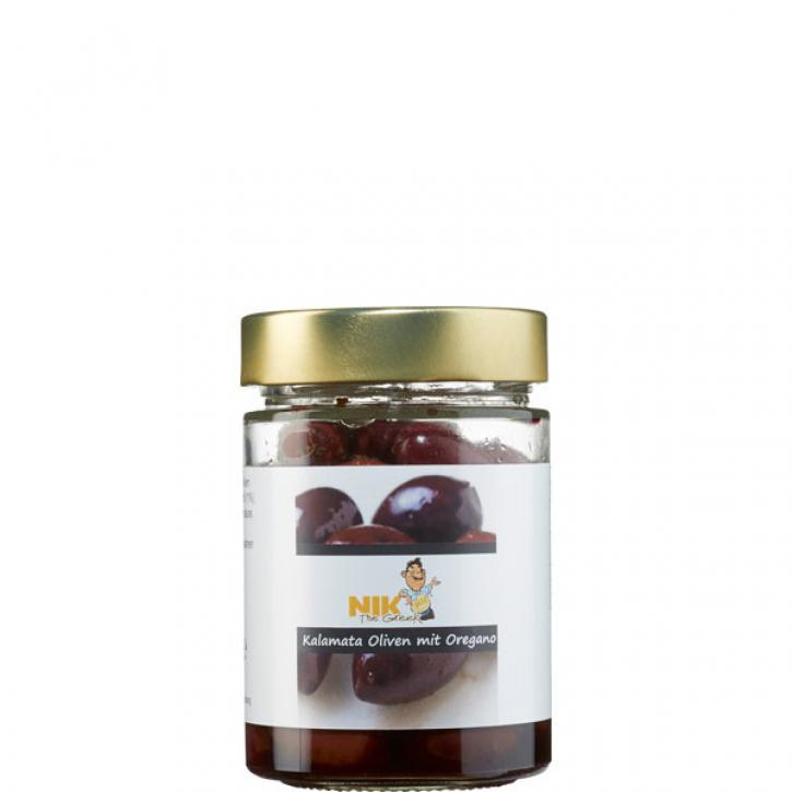 Oliven Kalamata gewürzt (200g) NiktheGreek