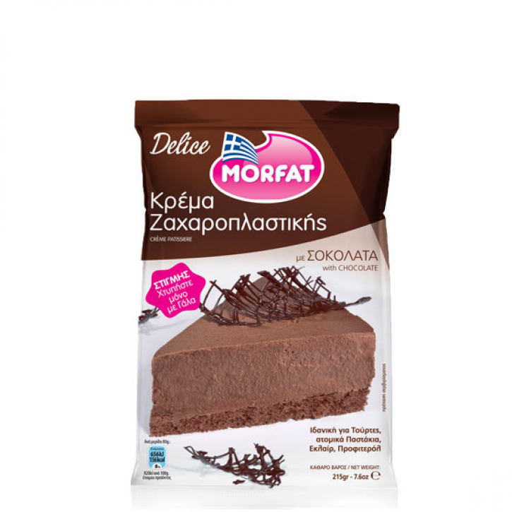 Delice Cream Chocolate (215g) Morfat