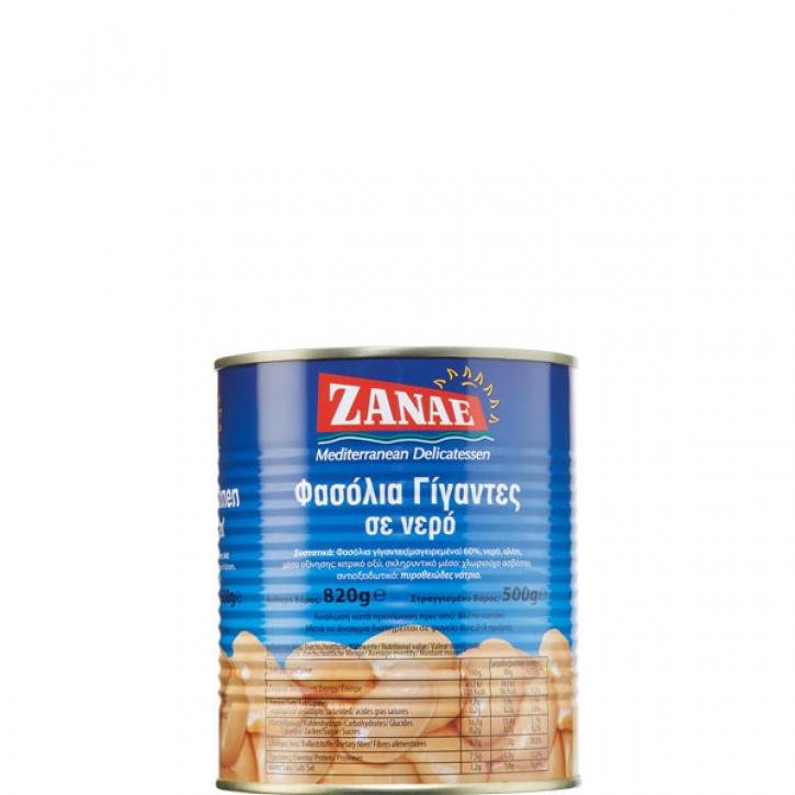 Butterbohnen naturbelassen (820g) Zanae