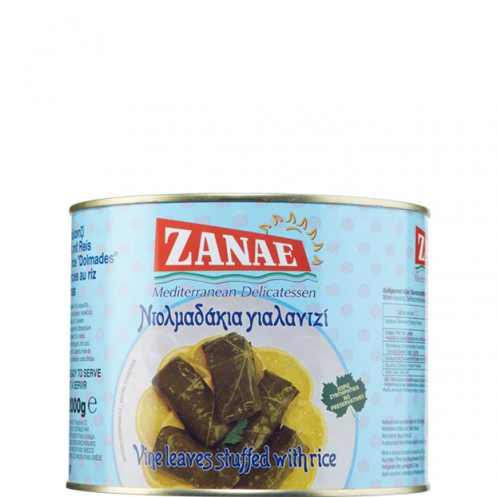 Weinblätter gefüllt mit Reis (2Kg) Zanae