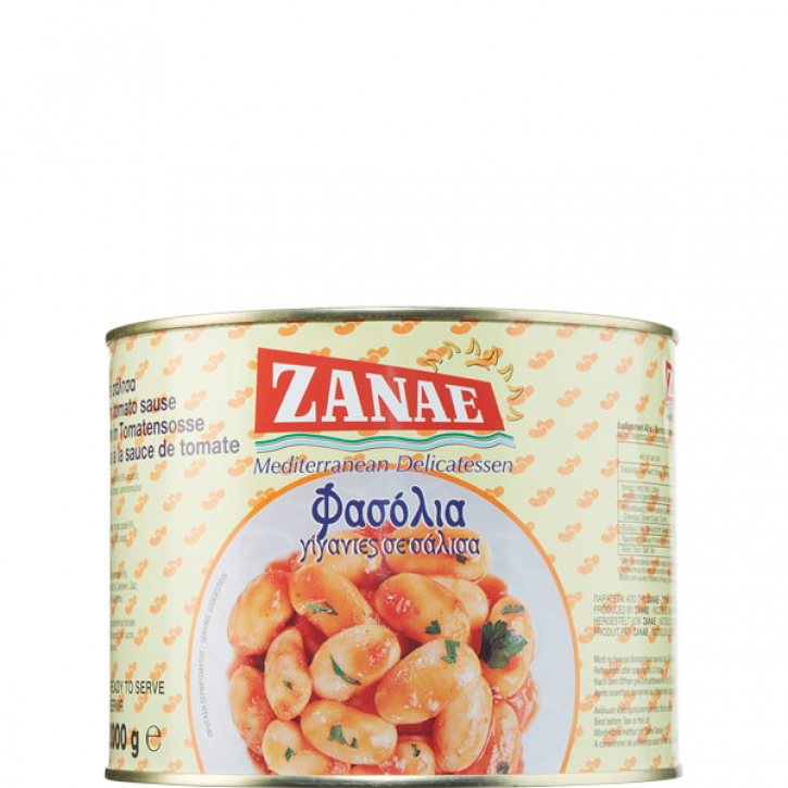 Butterbohnen in Tomatensauce (2Kg) Zanae
