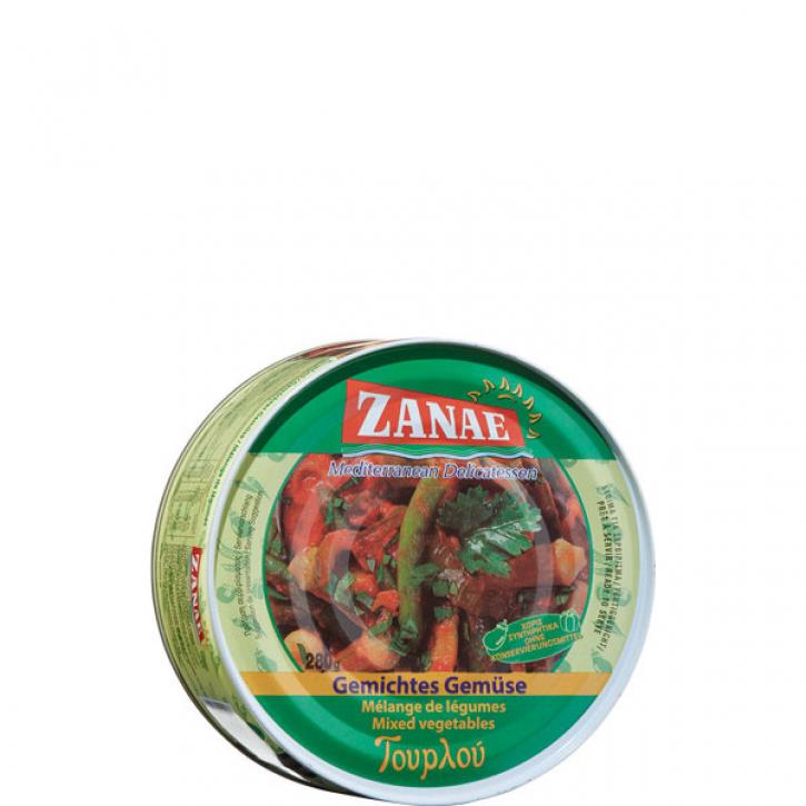 Gemischtes Gemüse Tourlou (280g) Zanae