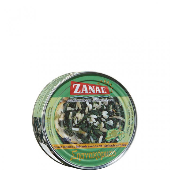 Spinat mit Reis (280g) Zanae