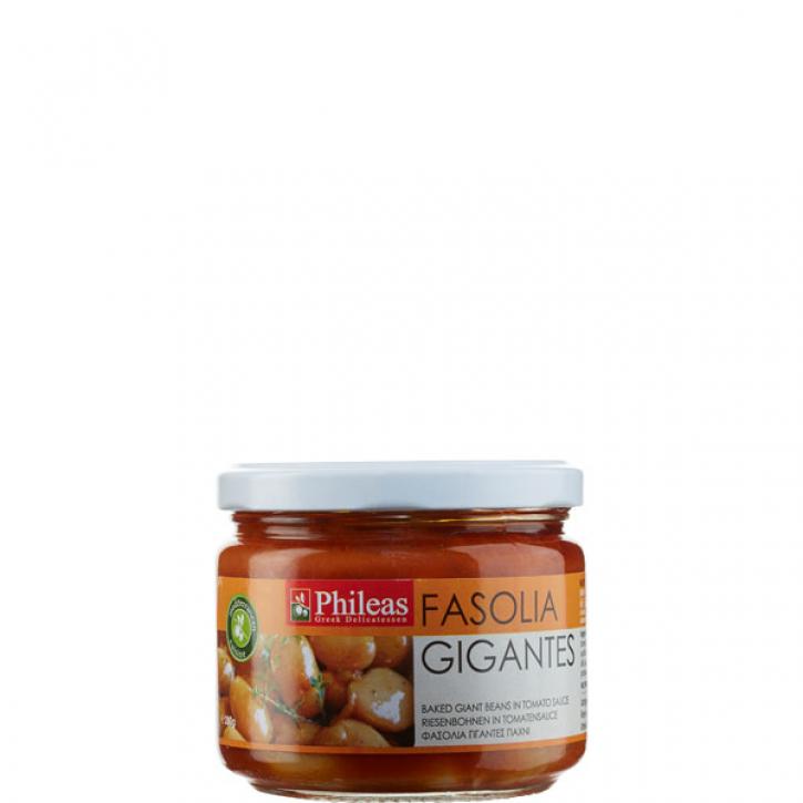 Butterbohnen in Tomatensauce (280g Glas) Phileas
