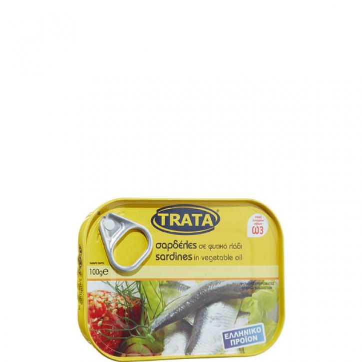 Sardinen in Öl eingelegt (100g) Trata