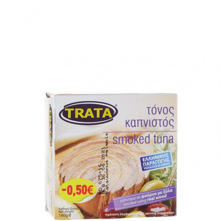 Thunfisch geräuchert in Öl (160g) Trata