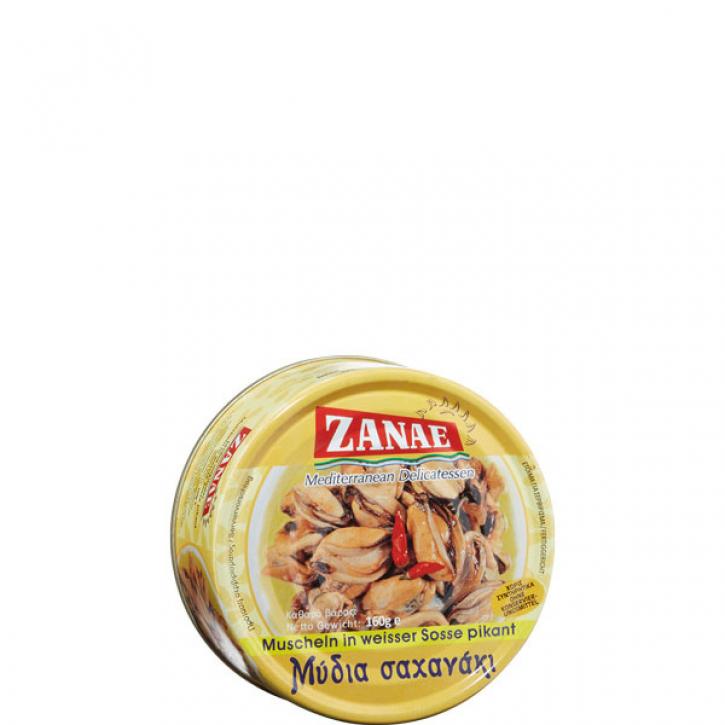 Muscheln weiße Sauce pikant (160g) Zanae