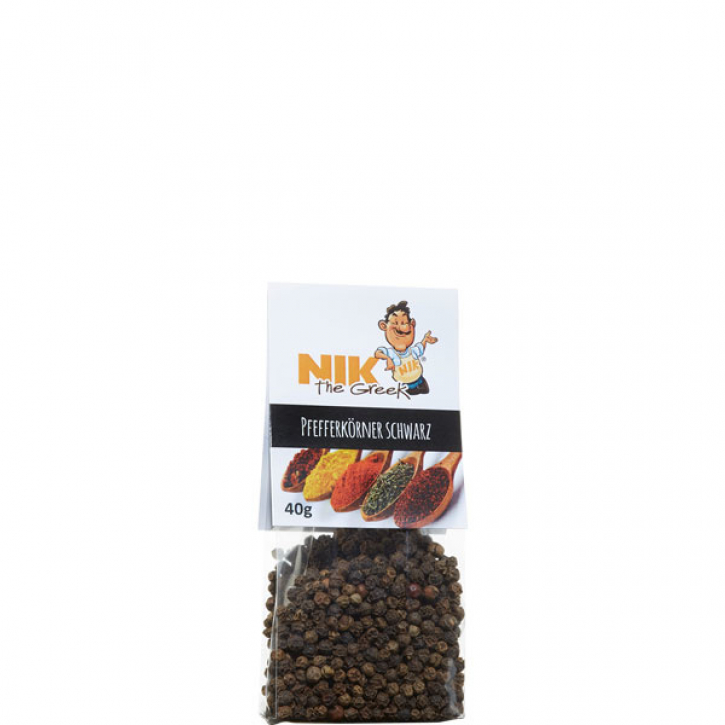 Pfefferkörner schwarz (40g) NiktheGreek