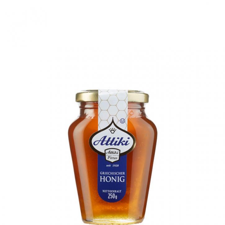 Honig aus Thymian & Blüten (250g Glas) Attiki