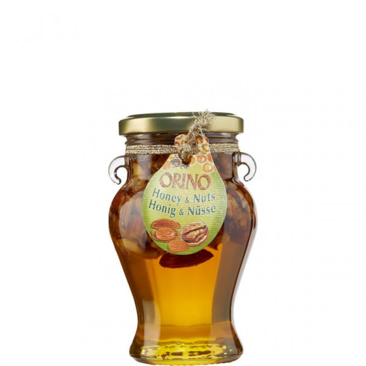 Honig mit Mixnüssen (250g) Orino