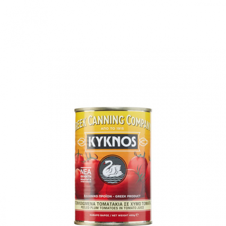 Geschälte Tomaten (400g) Kyknos