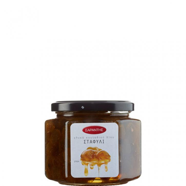 Trauben eingelegt in Sirup (453g) Sarantis