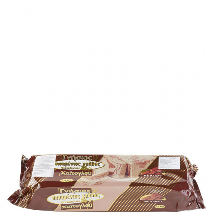 Halvas aus Sesam Kakao (2,5Kg) Haitoglou