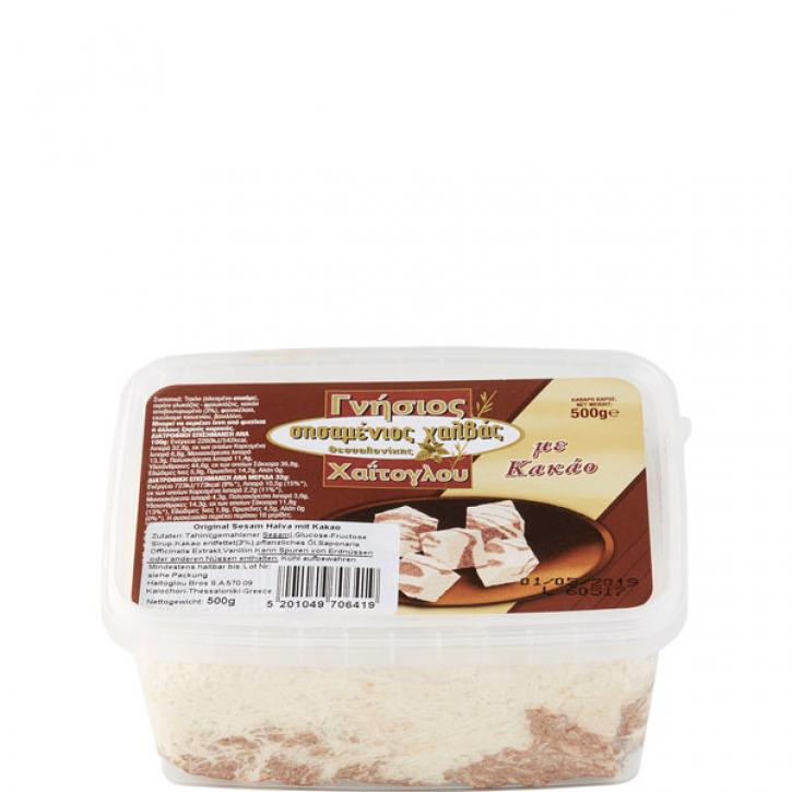 Halvas aus Sesam Kakao (500g) Haitoglou