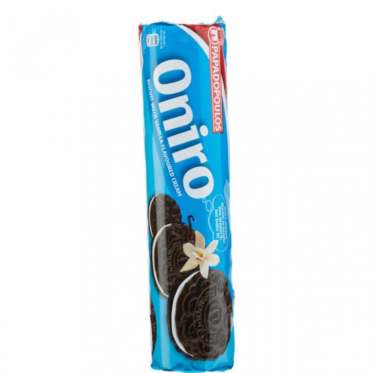 Oniro Doppelkeks Vanille (200g) Papadopoulos