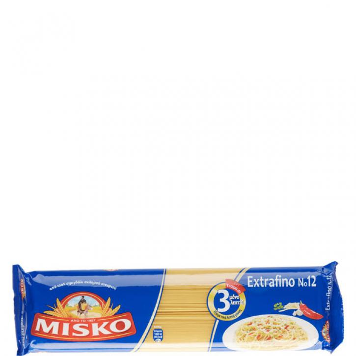 Spaghetti Extrafino Nr. 12 (500g) Misko