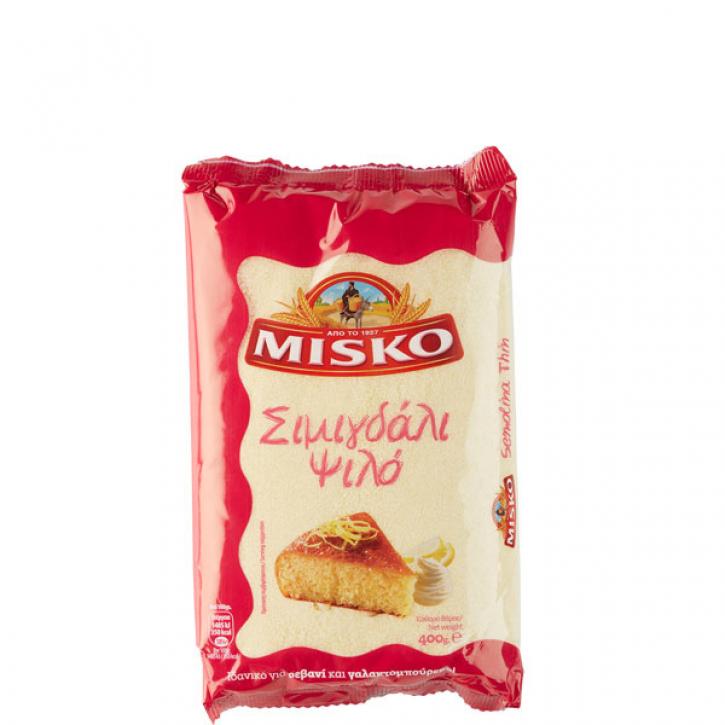 Grieß Simigdali fein (400g) Misko