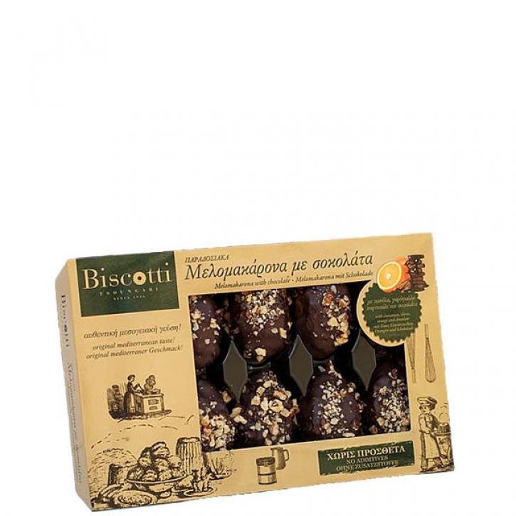 Melomakarona in Schokolade (450g) Biscotti
