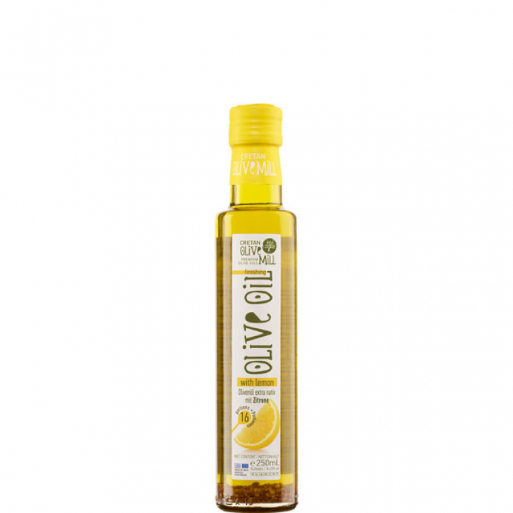 Olivenöl Extra Nativ mit Zitrone (250ml) Cretan Olive Mill