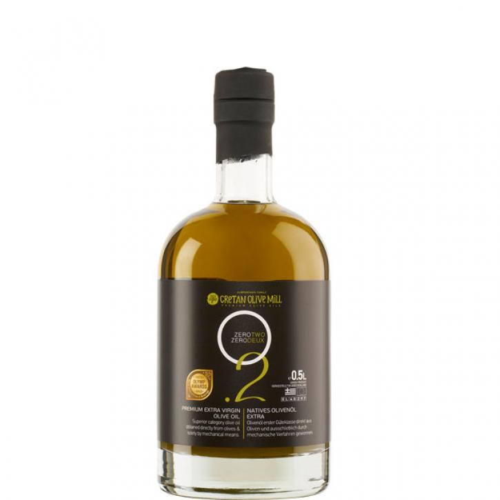 Olivenöl Extra Nativ 0,2% (500ml Flasche) Cretan Olive Mill