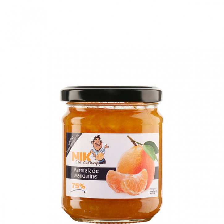 Marmelade Mandarine 75% (225g) NIKtheGreek