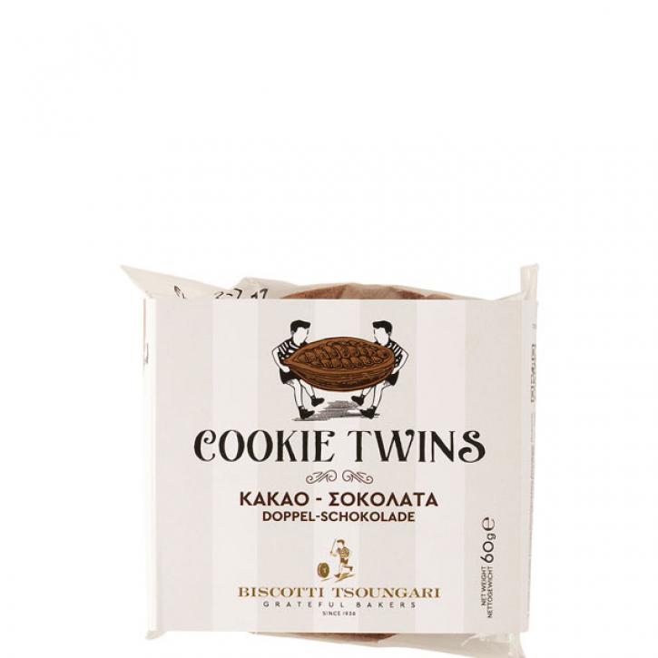 Cookie Twins Doppelschokolade (60g) Biscotti