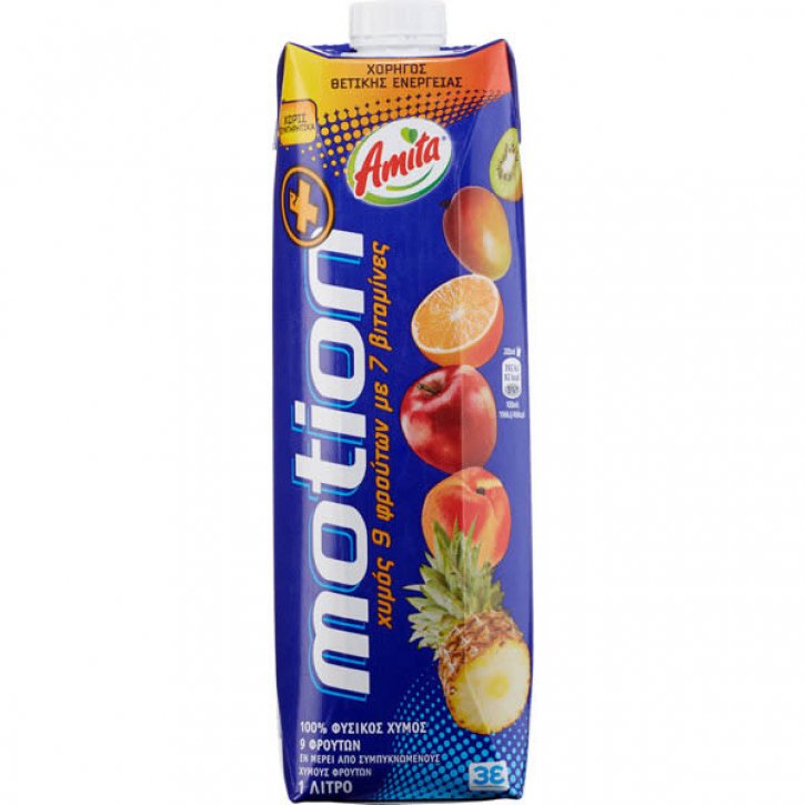 Motion Mehrfruchtsaft 100% (1000ml) Amita