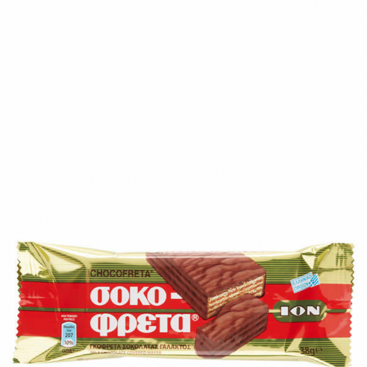 Schokofreta Rot (38g) ION