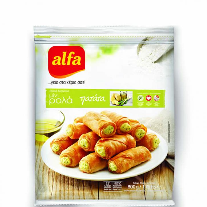 Pita Mini Roll gefüllt mit Kartoffelpüree (800g) Alfa