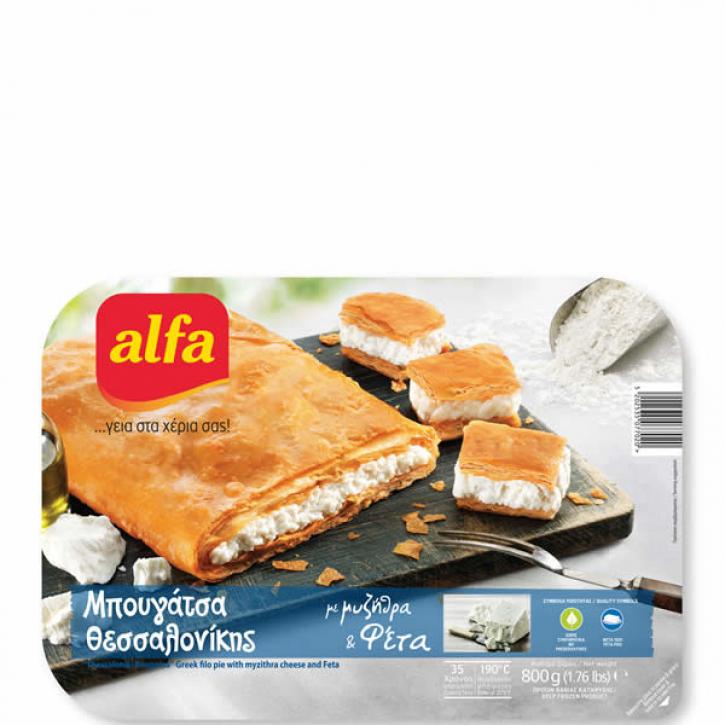 Bougatsa gefüllt mit Käse (800g) Alfa