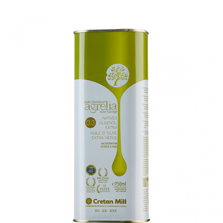 Olivenöl Extra Nativ Agrelia (750ml) Cretan Olive Mill