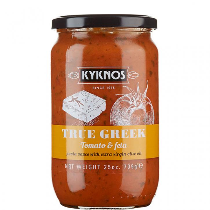 Tomatensauce mit Fetakäse (709g) Kyknos